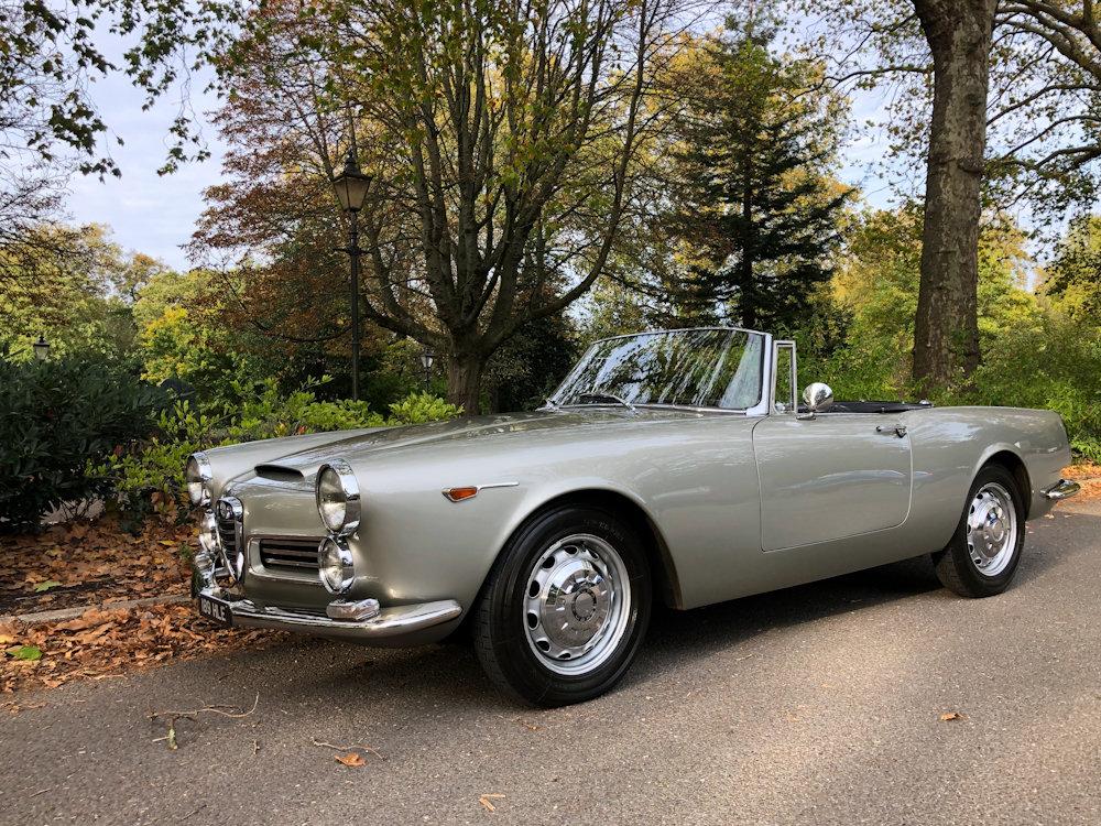 1964 Alfa Romeo 2600 Spider For Sale (picture 1 of 24)