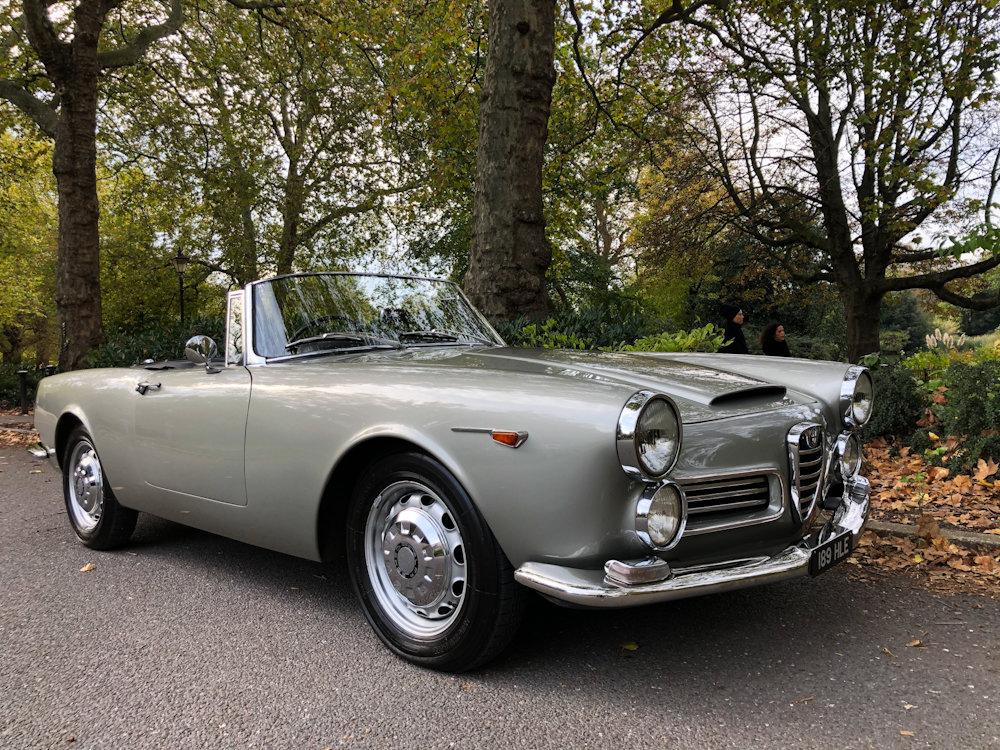 1964 Alfa Romeo 2600 Spider For Sale (picture 2 of 24)