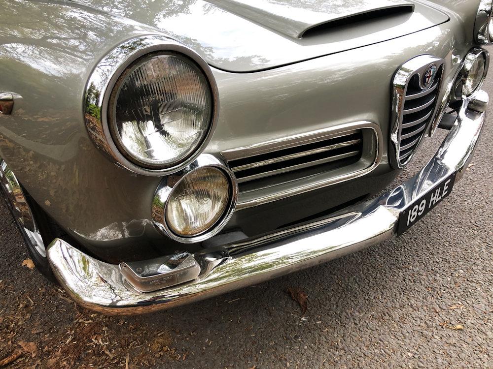 1964 Alfa Romeo 2600 Spider For Sale (picture 20 of 24)