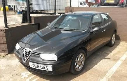 Alfa Romeo Twinspark with private plate T88 DAS