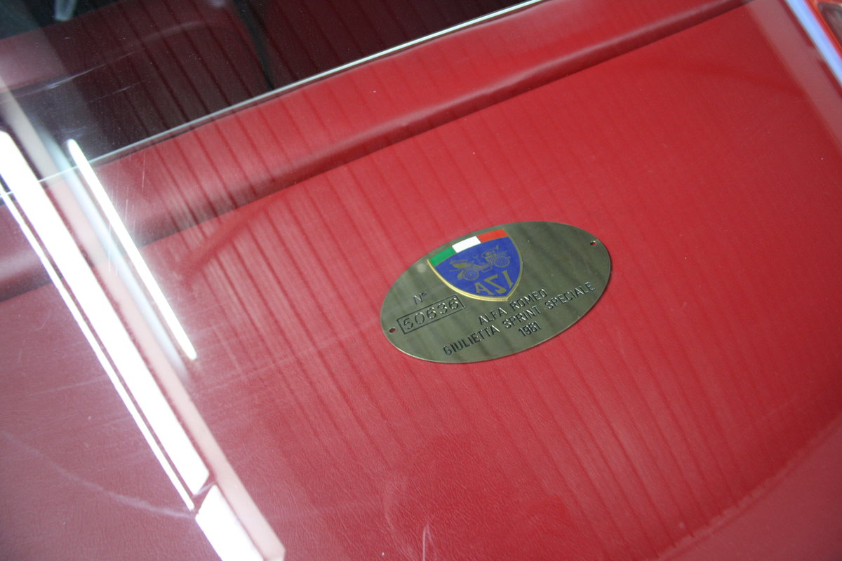 1961 alfa romeo SS Sprint Speciale For Sale (picture 3 of 10)