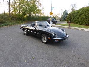 Picture of 1986 Alfa Romeo Spider Valoce Graduate Tripple Black Driver For Sale