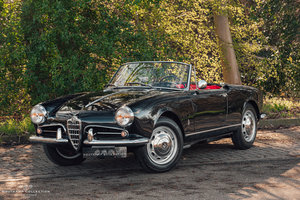 Picture of 1958 ALFA ROMEO GIULIETTA SPIDER, rare early example For Sale