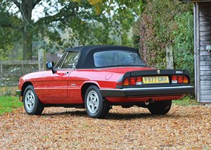 Picture of 1989 Alfa Romeo Spider 2000 SOLD by Auction