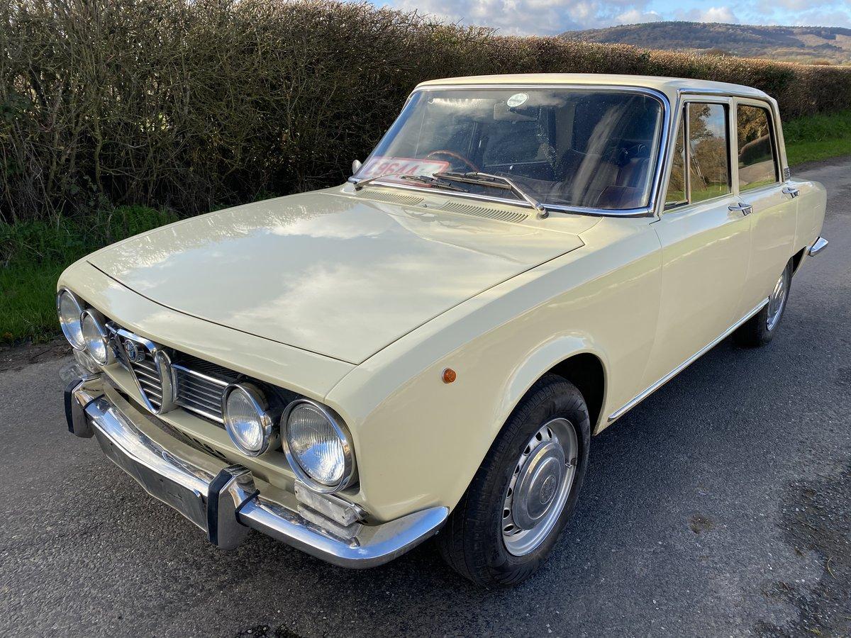 1971 Rare Alfa Berlina 1750 For Sale (picture 1 of 6)