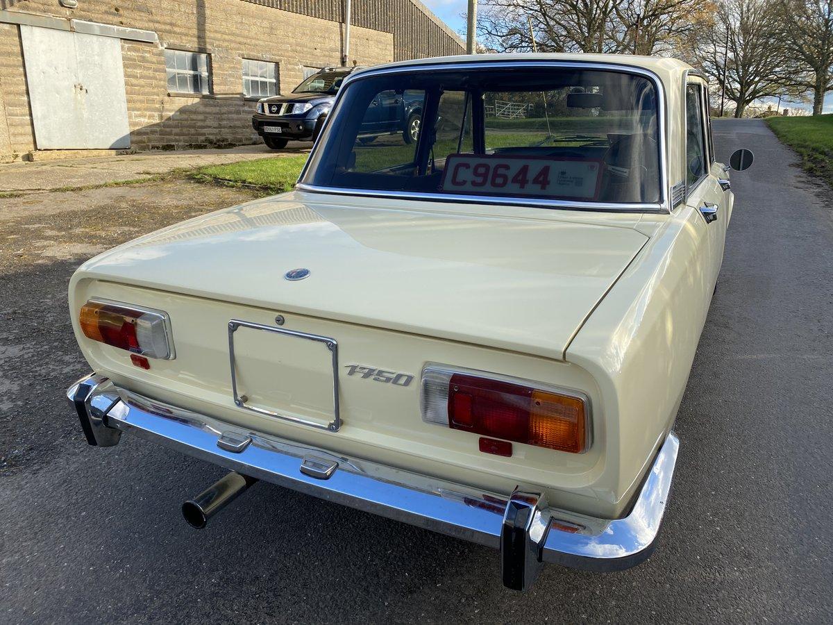 1971 Rare Alfa Berlina 1750 For Sale (picture 3 of 6)
