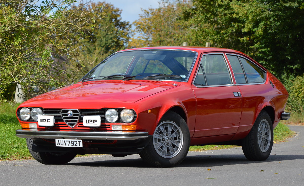 1979 Alfa Romeo 2.0 litre GTV - SOLD For Sale (picture 1 of 6)