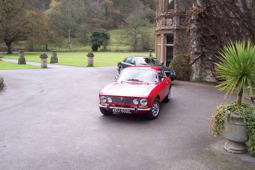 1972 Classic Alfa Romeo's GTV and Spider for hire For Hire (picture 1 of 6)