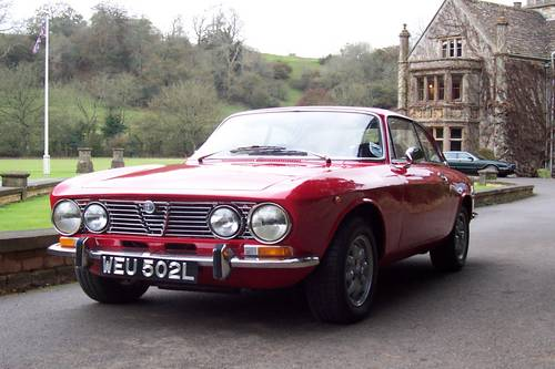 1972 Classic Alfa Romeo's GTV and Spider for hire For Hire (picture 2 of 6)