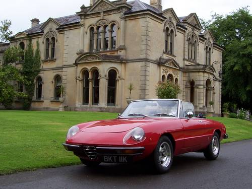 1972 Classic Alfa Romeo's GTV and Spider for hire For Hire (picture 4 of 6)