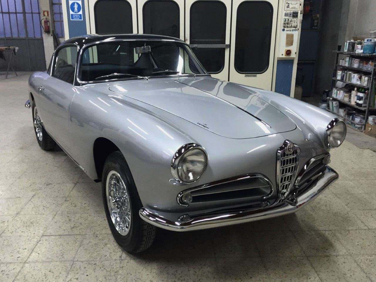 1957 Alfa Romeo 1900 CSS Superleggera by Touring For Sale (picture 2 of 10)