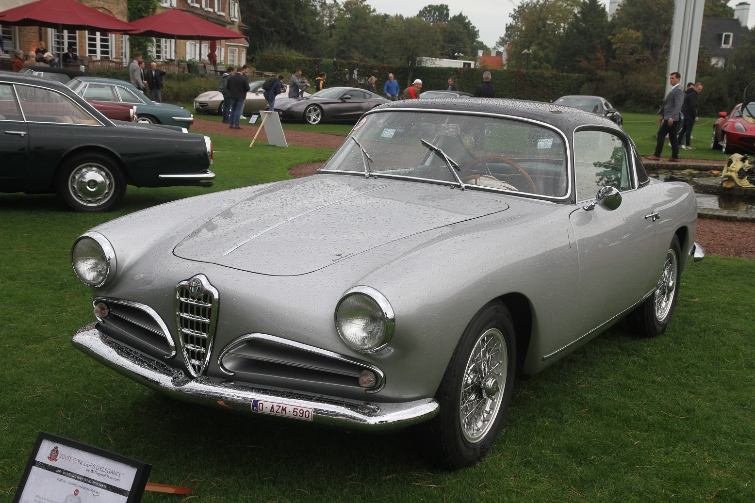 1957 Alfa Romeo 1900 CSS Superleggera by Touring For Sale (picture 10 of 10)