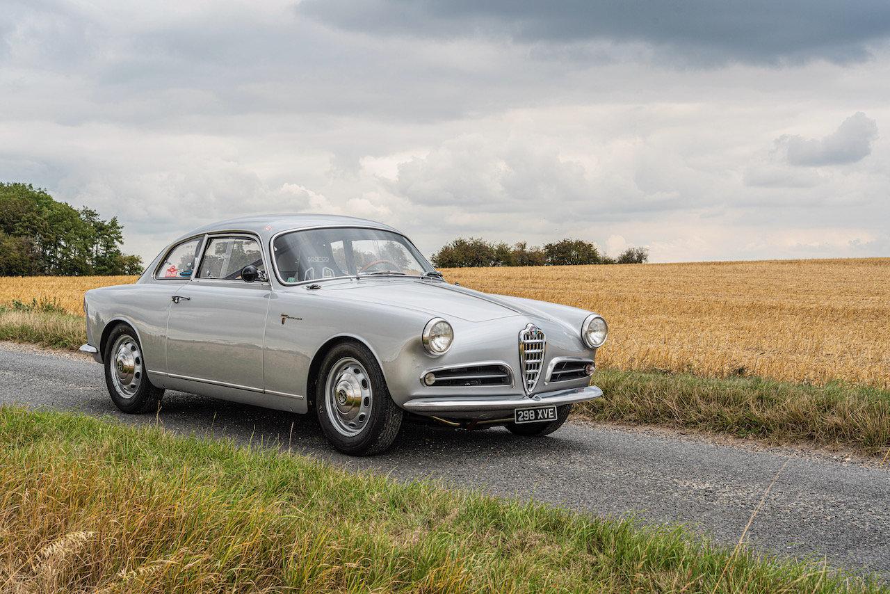 1957 Alfa Romeo Giulietta Sprint Veloce Alleggerita by Facetti For Sale (picture 1 of 12)