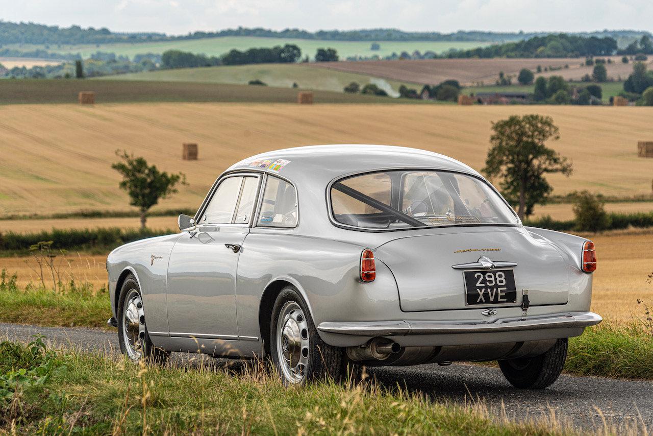 1957 Alfa Romeo Giulietta Sprint Veloce Alleggerita by Facetti For Sale (picture 11 of 12)