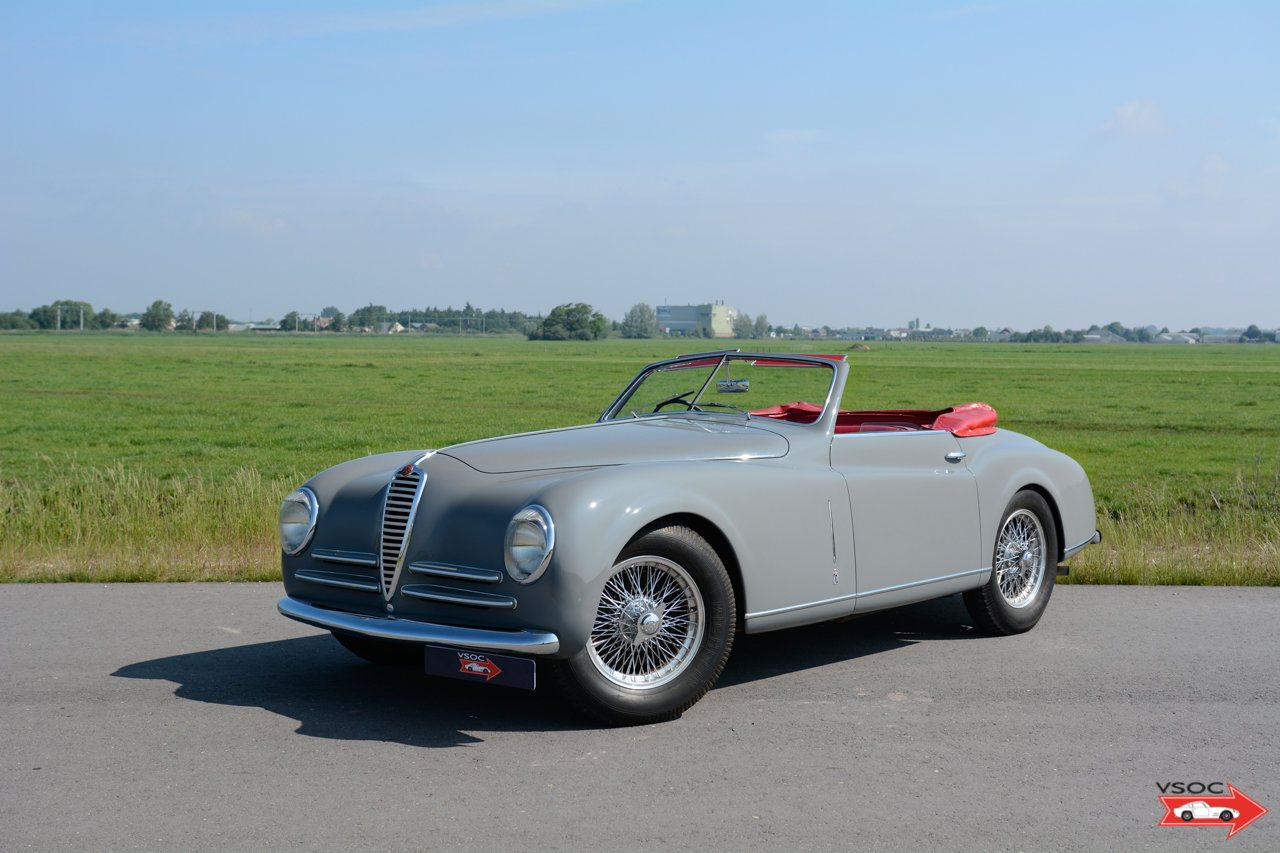 Alfa Romeo 6C 2500 SS Pininfarina Cabriolet 1948 For Sale (picture 1 of 12)