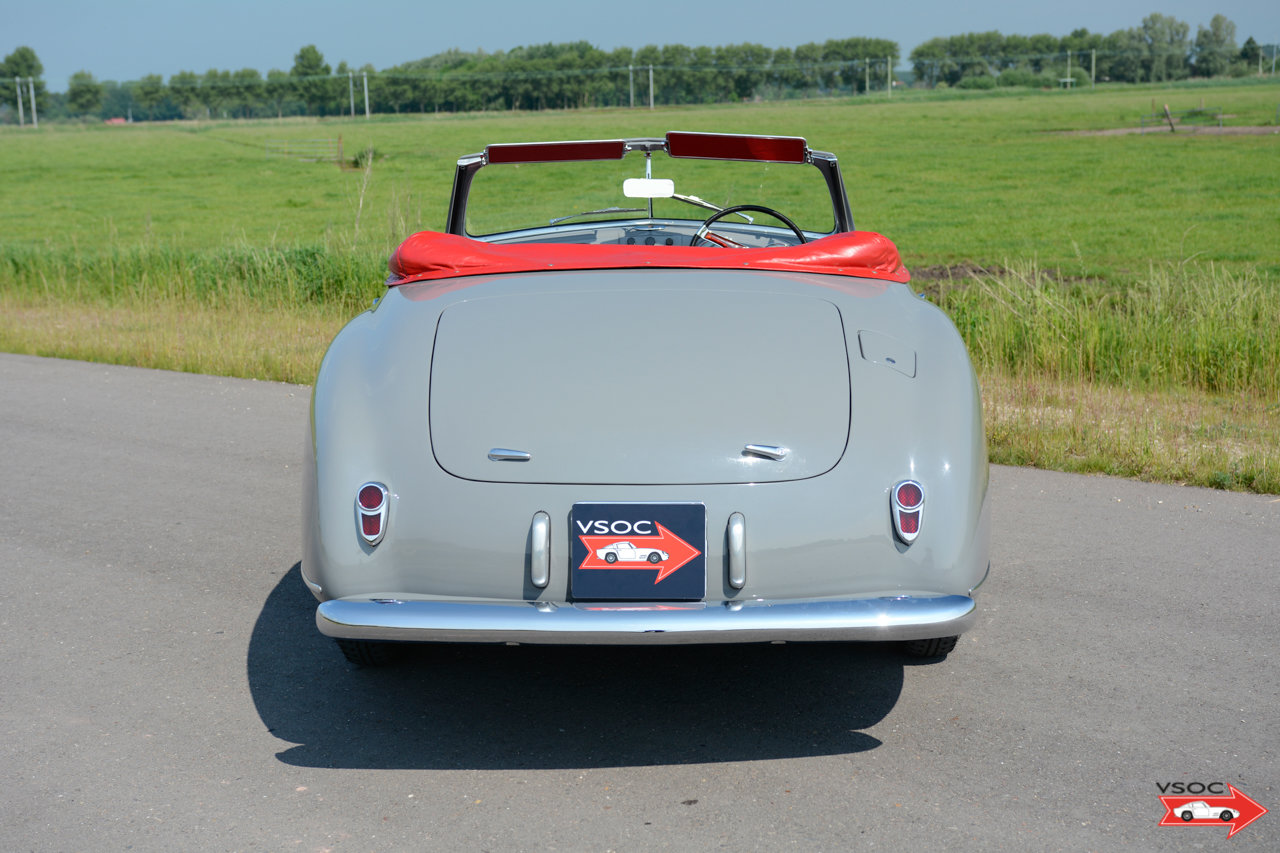 Alfa Romeo 6C 2500 SS Pininfarina Cabriolet 1948 For Sale (picture 5 of 12)