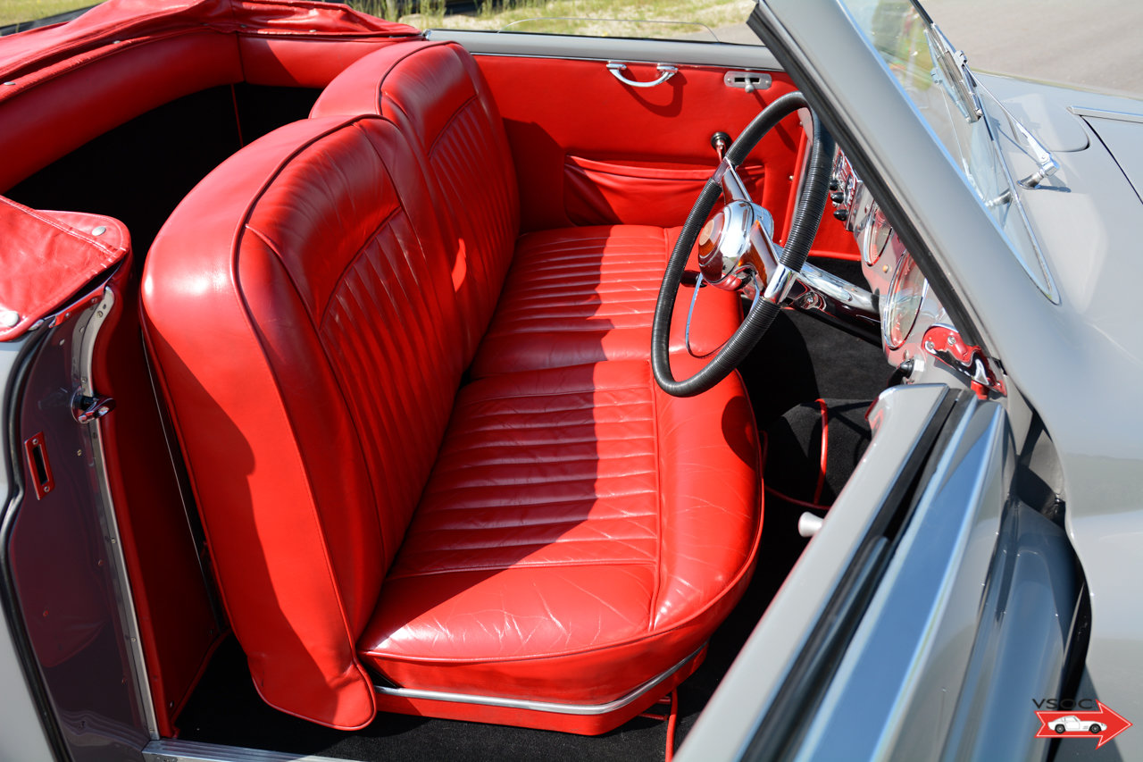 Alfa Romeo 6C 2500 SS Pininfarina Cabriolet 1948 For Sale (picture 7 of 12)