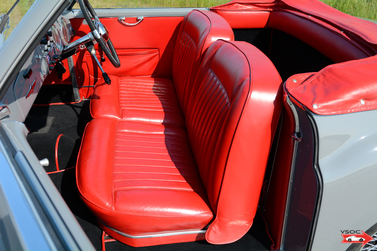 Alfa Romeo 6C 2500 SS Pininfarina Cabriolet 1948 For Sale (picture 9 of 12)