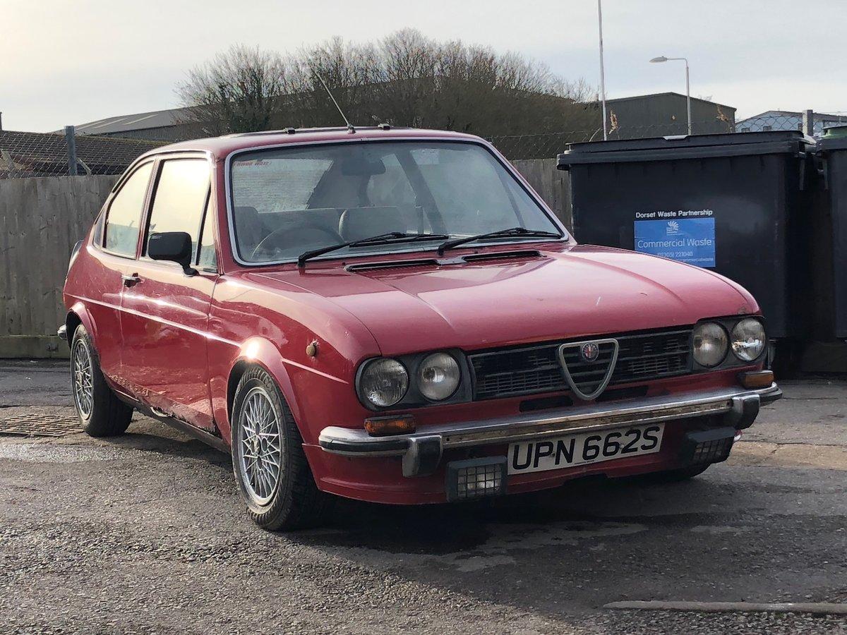1977 Alfa Romeo Alfasud 1.3 Ti SOLD (picture 1 of 10)