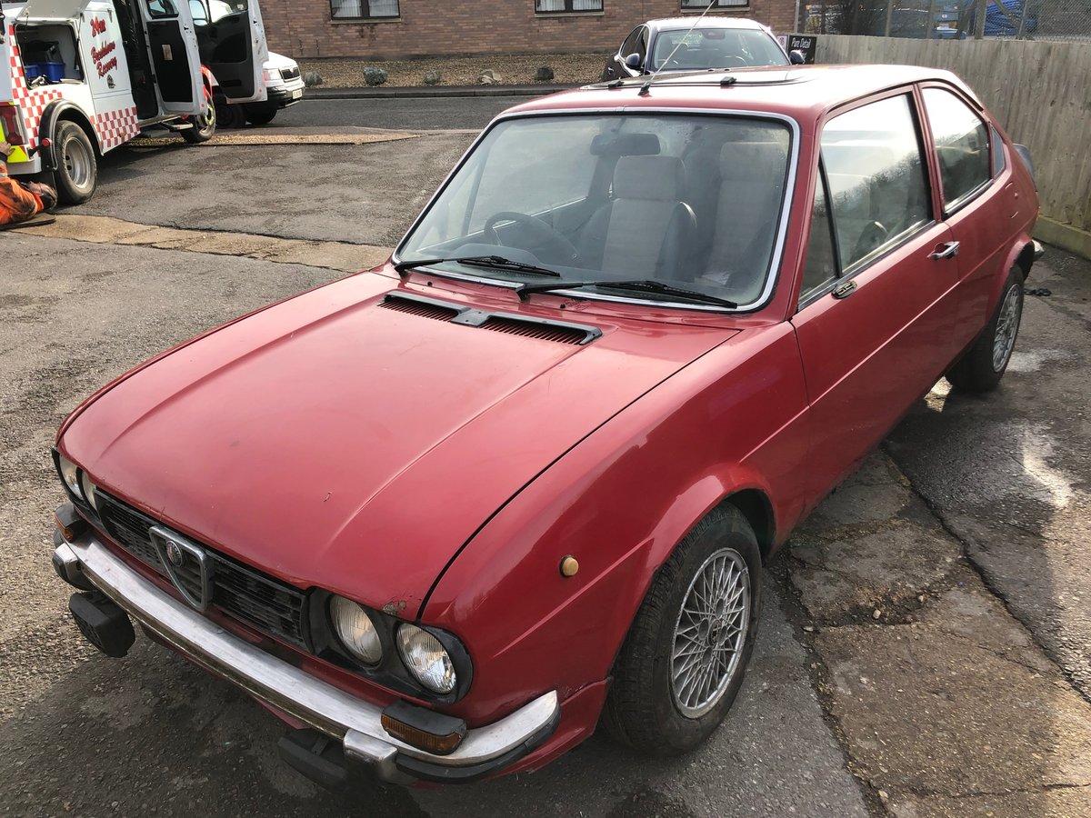 1977 Alfa Romeo Alfasud 1.3 Ti SOLD (picture 2 of 10)