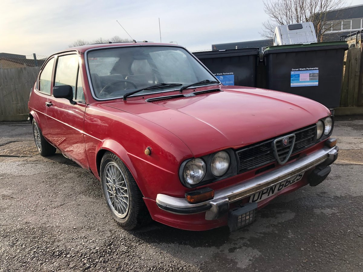 1977 Alfa Romeo Alfasud 1.3 Ti SOLD (picture 3 of 10)