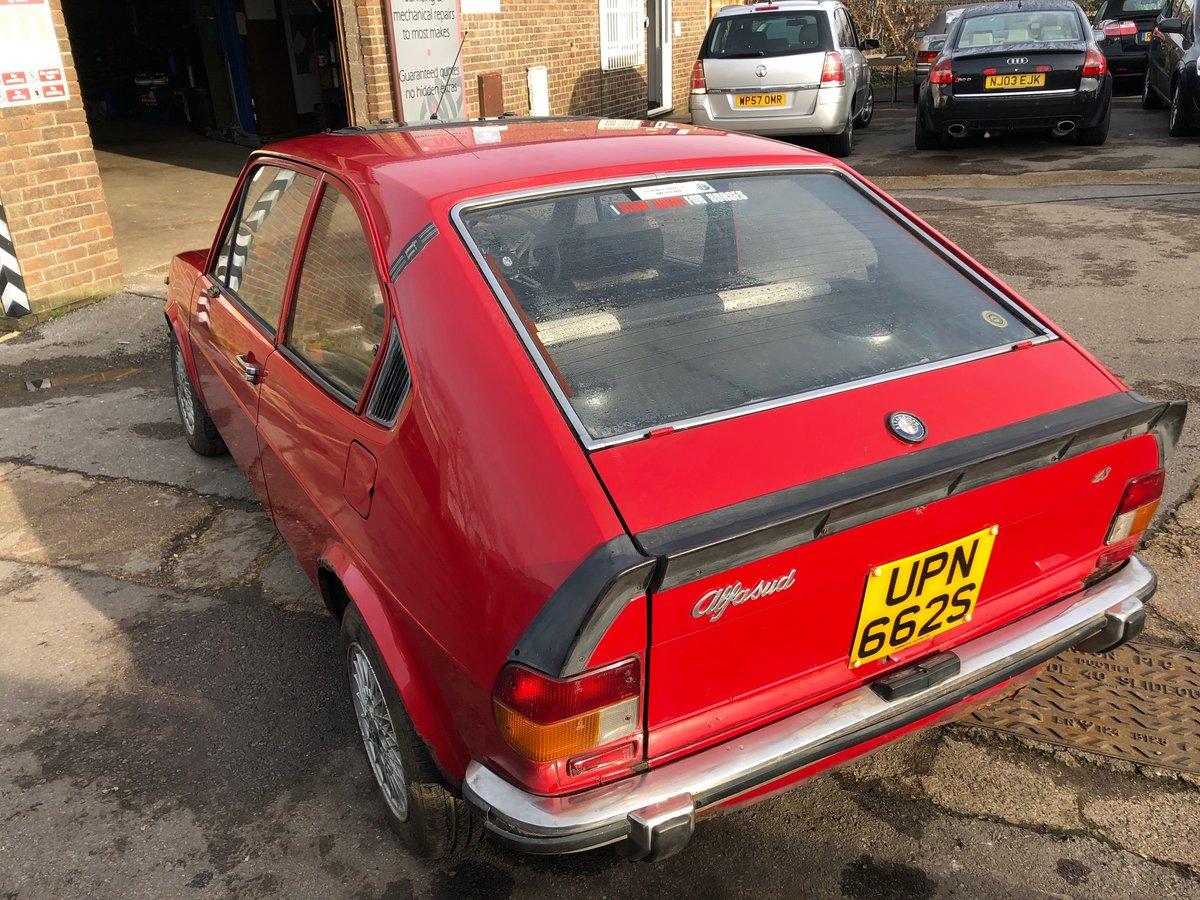 1977 Alfa Romeo Alfasud 1.3 Ti SOLD (picture 5 of 10)