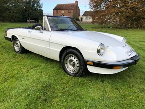 Picture of 1986 Alfa Romeo Spider S3 'Graduate' Edition For Sale by Auction