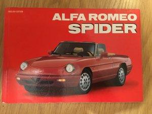 Alfa Romeo Spider book