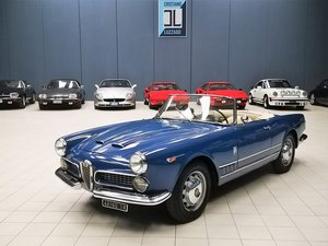 Picture of 1959 ALFA ROMEO 2000 TOURING SPIDER EURO 78800 For Sale