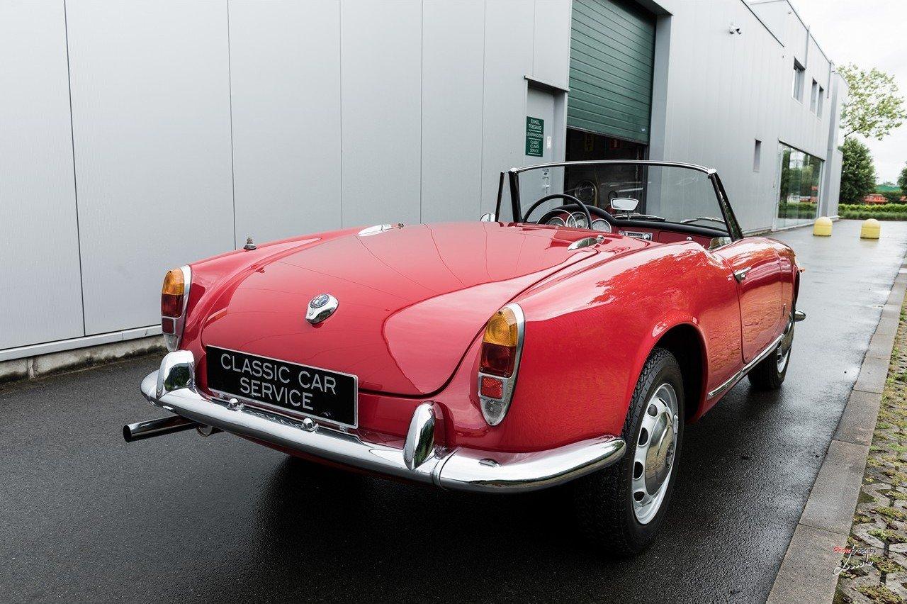 1961 Alfa Romeo Giulietta Spider For Sale (picture 4 of 27)