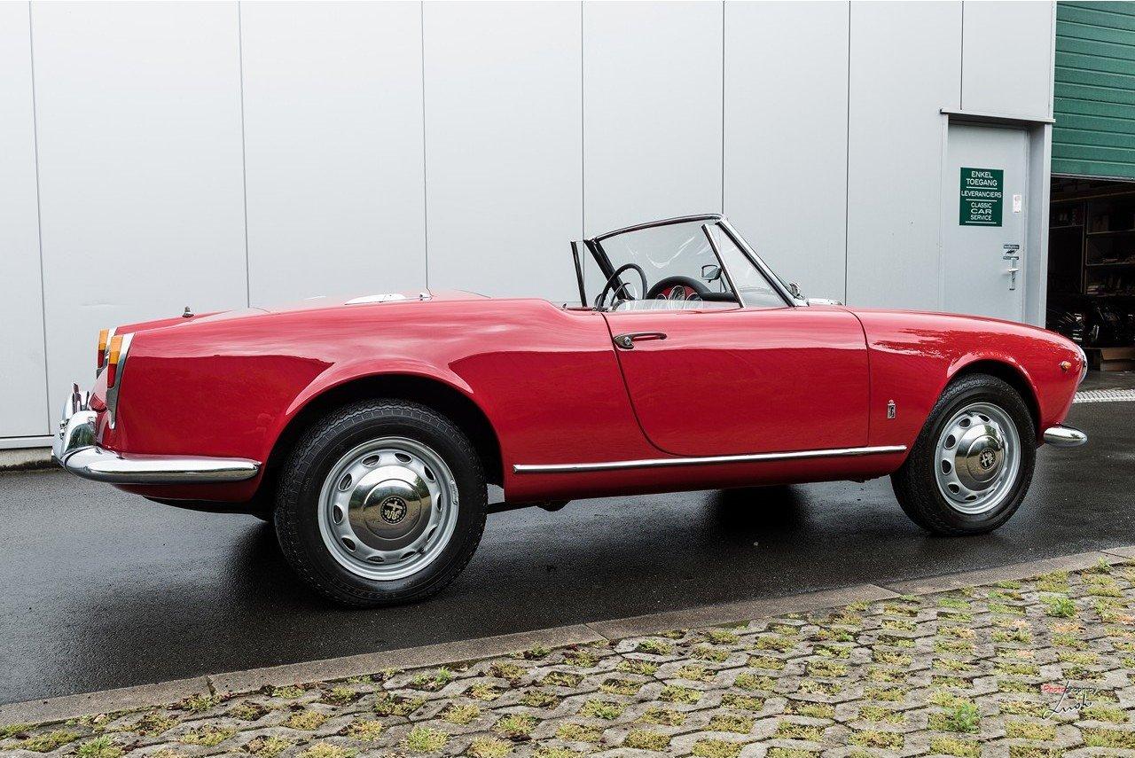 1961 Alfa Romeo Giulietta Spider For Sale (picture 6 of 27)