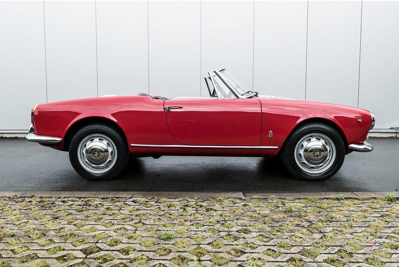 1961 Alfa Romeo Giulietta Spider For Sale (picture 7 of 27)