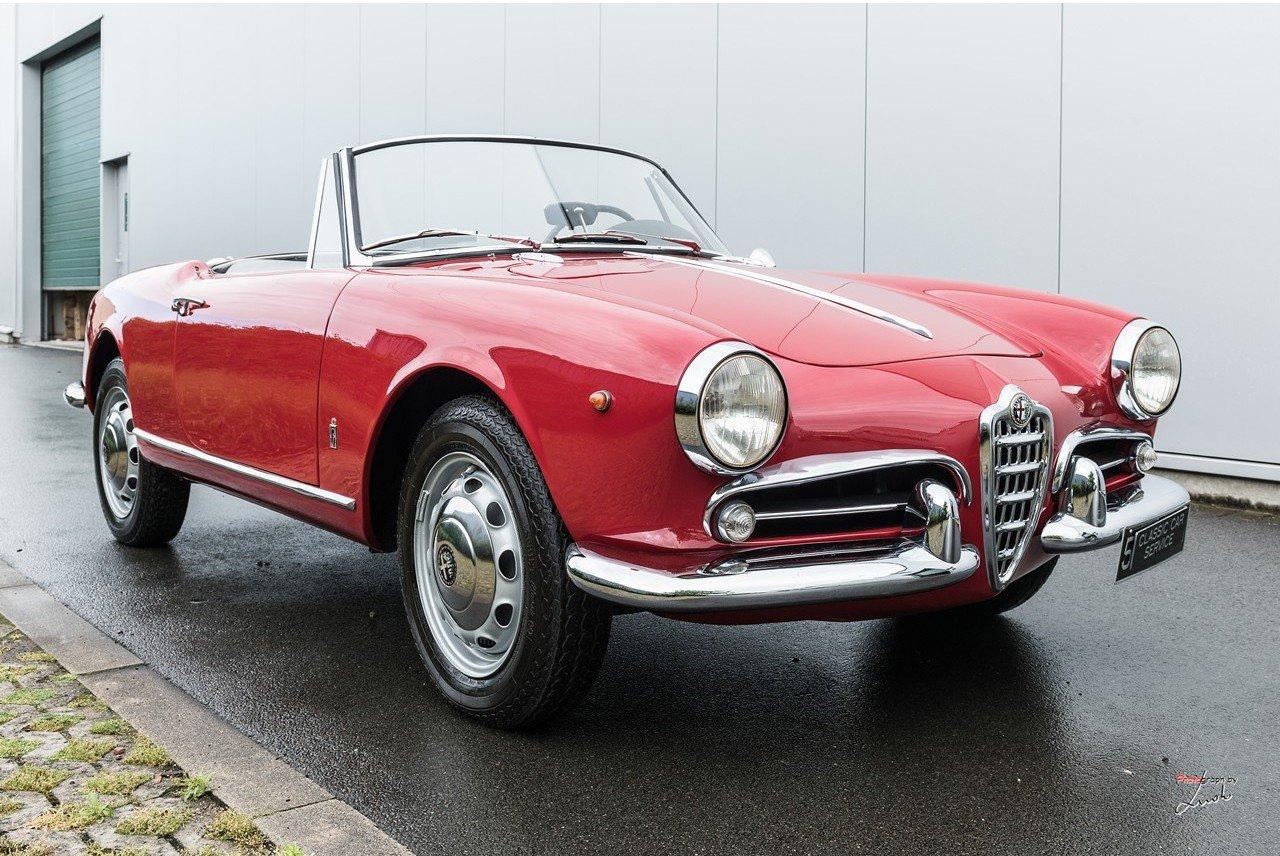 1961 Alfa Romeo Giulietta Spider For Sale (picture 10 of 27)