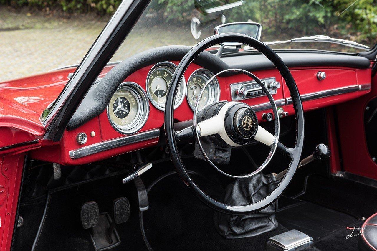 1961 Alfa Romeo Giulietta Spider For Sale (picture 14 of 27)