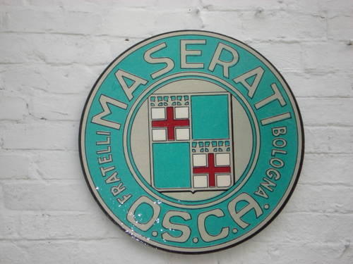 1930 Alfa Romeo 2ft diameter wall sign For Sale (picture 2 of 5)