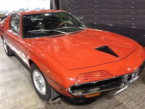 1972 Alfa Romeo Montreal Very Rare red sport car For Sale