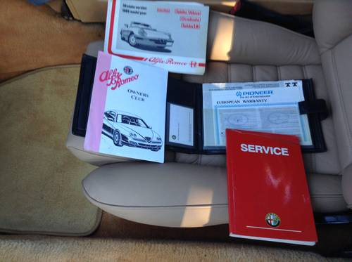 Alfa Romeo Spider S4 RHD ,SEAKING ,1991  For Sale (picture 1 of 6)