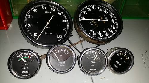 Jaeger Gauges Alfa Romeo Tz1 Tachometer Rev Counte For