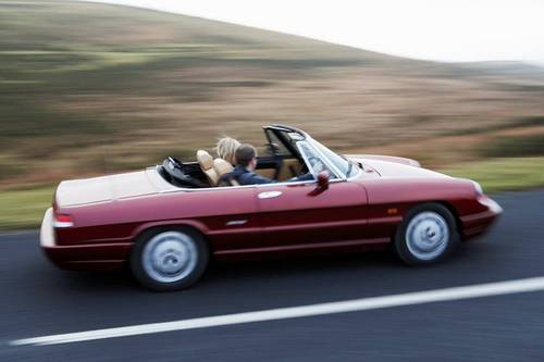 1992 Alfa Romeo Spider in the Cotswolds For Hire (picture 5 of 6)