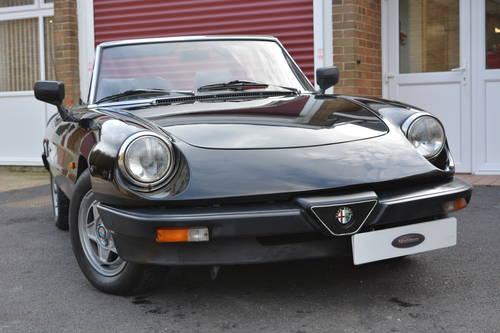 Alfa Romeo Spider Veloce 2.0 1990 For Sale (picture 1 of 6)