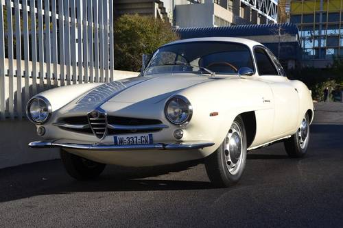 1963 Alfa Romeo Sprint Speciale for sale  For Sale (picture 3 of 6)
