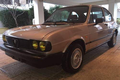 1981 Alfa Romeo Alfasud 1.2 Super, 1 of 272 5sp, 1-owner For Sale (picture 1 of 6)