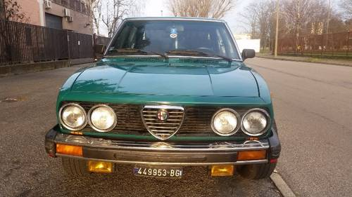 1975 alfetta v1600 restyling For Sale (picture 5 of 6)