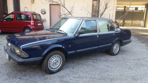 1984 wonderful alfa 6 q.0. For Sale (picture 1 of 6)