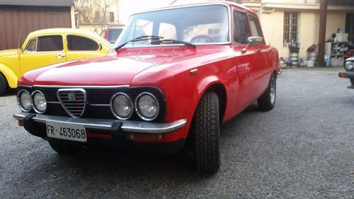 1975 very nice red giulia For Sale (picture 1 of 6)