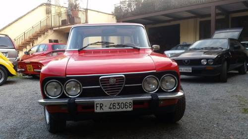 1975 very nice red giulia For Sale (picture 2 of 6)