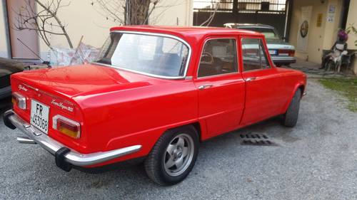 1975 very nice red giulia For Sale (picture 6 of 6)