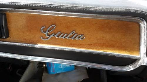 1976 giulia assistance car For Sale (picture 6 of 6)