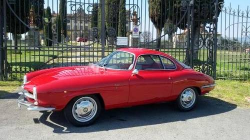 1961 Alfa Romeo Sprint 1300 SS.. just WOW For Sale (picture 1 of 6)