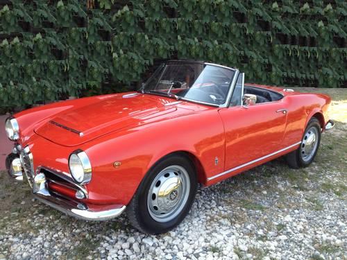 1963 Giulietta (Giulia) spider veloce For Sale (picture 1 of 2)